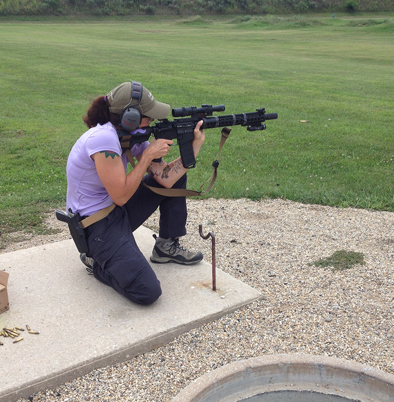 Trijicon Accupoint review - Kim Heath - women's tactical association