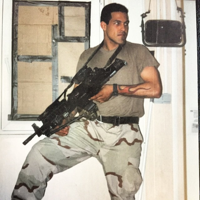 "Vincent ""Rocco"" Vargas, an Army Ranger"