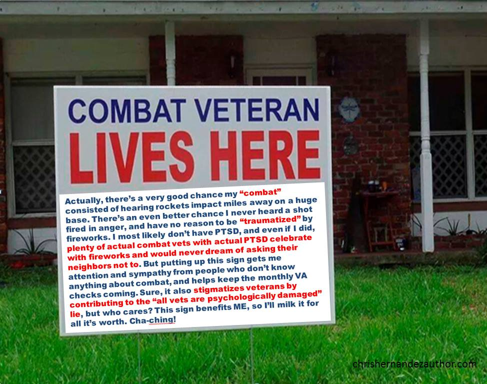 Signs, Of Veteran Entitlement.