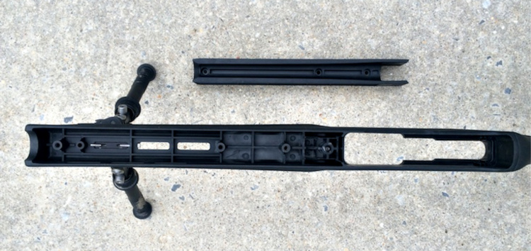 The Magpul X22 is adaptable for different barrel profiles as well, by removing or installing the drop in spacer which runs the length of the forearm.