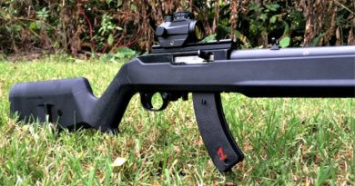 On the Range with the Magpul X22 Hunter Stock for the Ruger 10/22 platform.