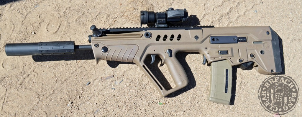 The ONE mounted on an IWI Tavor