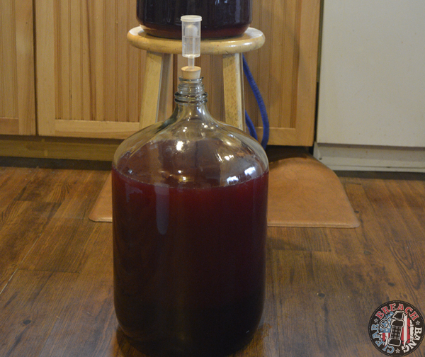 Norseman makes mead.