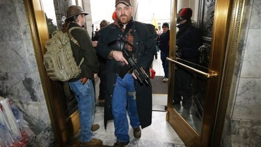 Washington State Open Carry rally