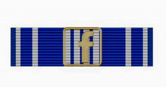 Facebook War Fighter Ribbon 2