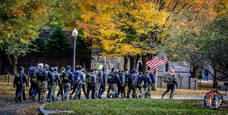 GO RUCK, Veterans, Veterans Day, rucksack, Sara Liberte, honor those who served, soldiers, vets, Washington D.C.,