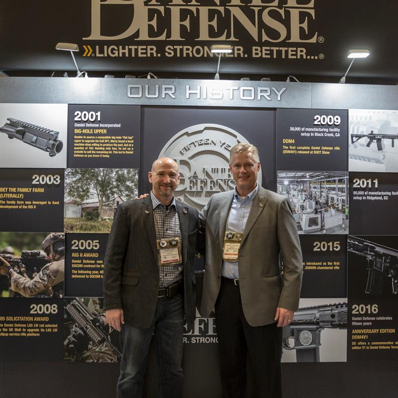 Daniel Defense SHOT Show 2016 -2