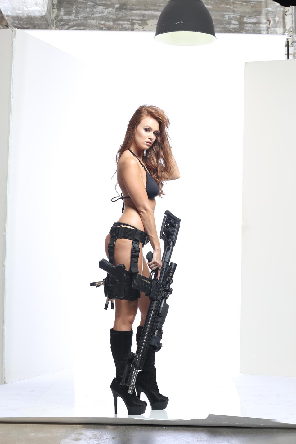 Leanna Decker with Radical Firearms