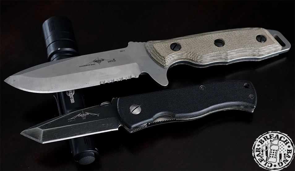 Emerson Mule Fixed Blade Review 2 TF