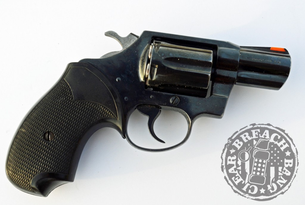 "The Colt Detective Special, or ""Dick Special"" was built on the D frame revolver."