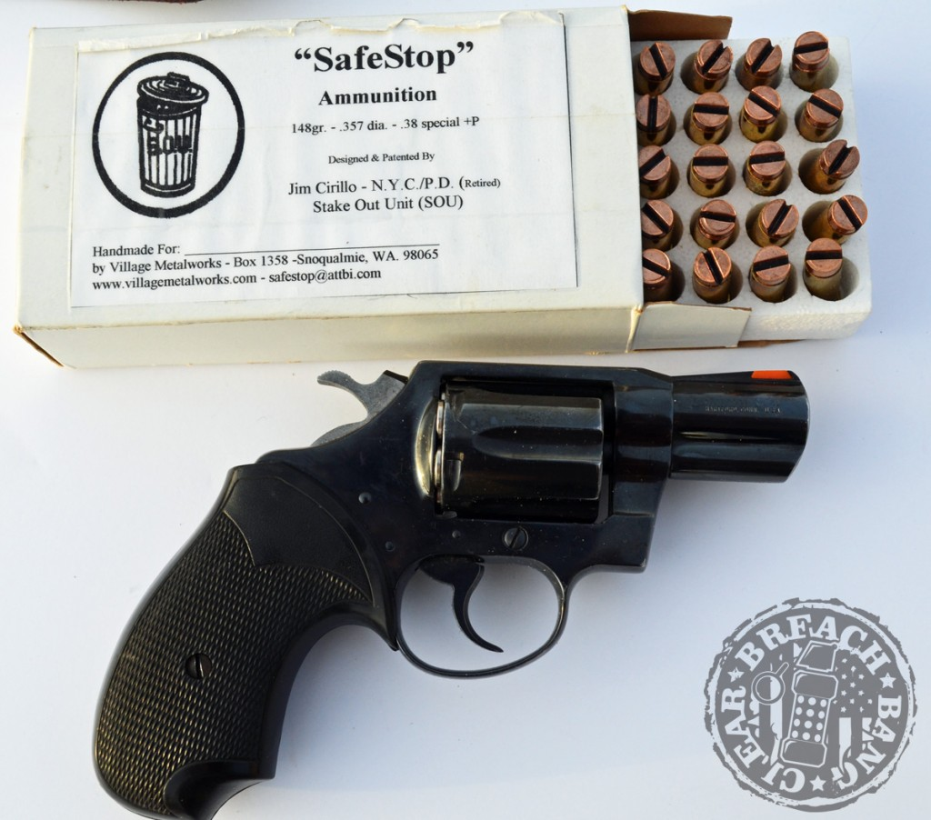 Jim Cirillo's Safe Stop ammunition and a Dick Special make an effective self defense combination.