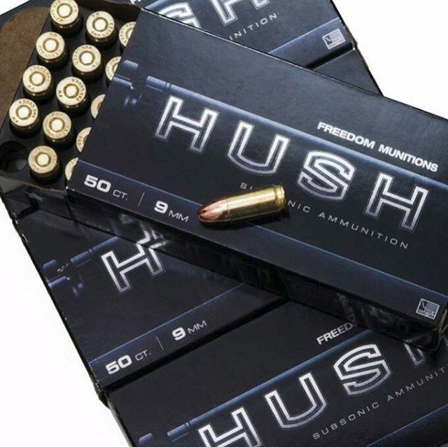 Freedom Munitions HUSH ammo is among the best we've ever shot.