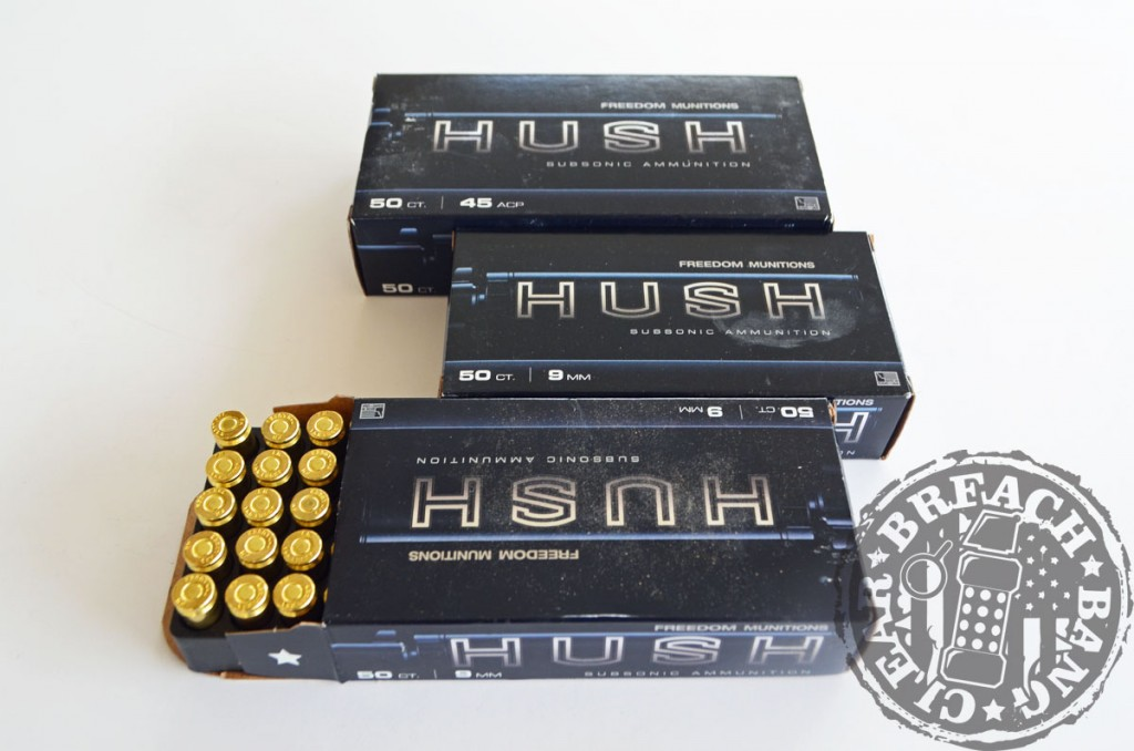 Freedom Munitions - the best suppressor ammo? Hush ammunition is a good option for shooting suppressed, but will still make plenty of noise coming off the back poch.