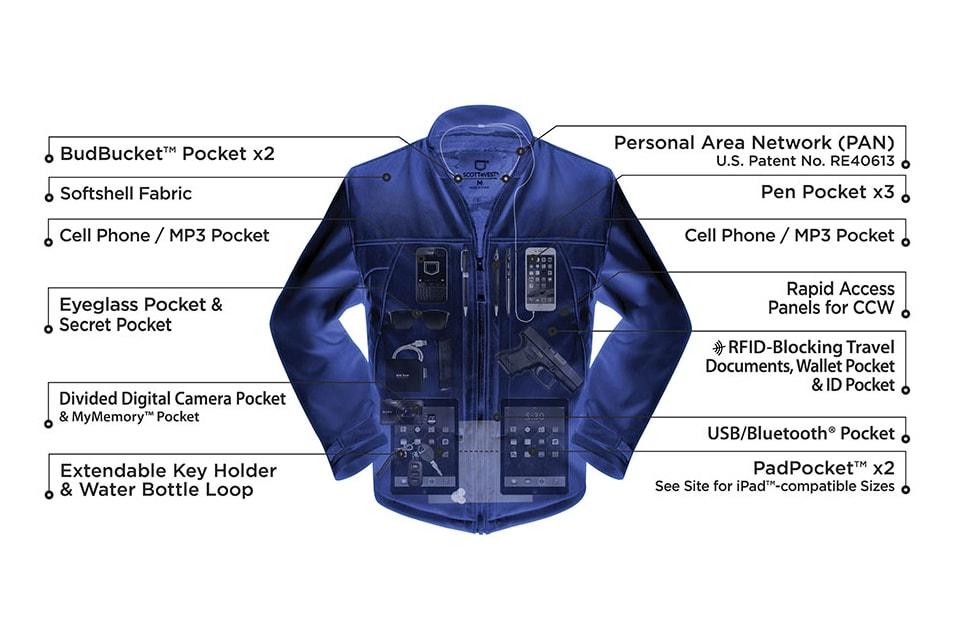 Scotte vest concealed carry