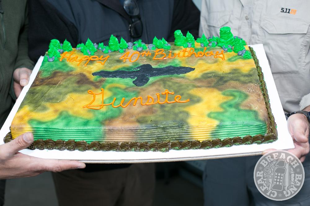 The Gunsite 40th Anniversary Cake