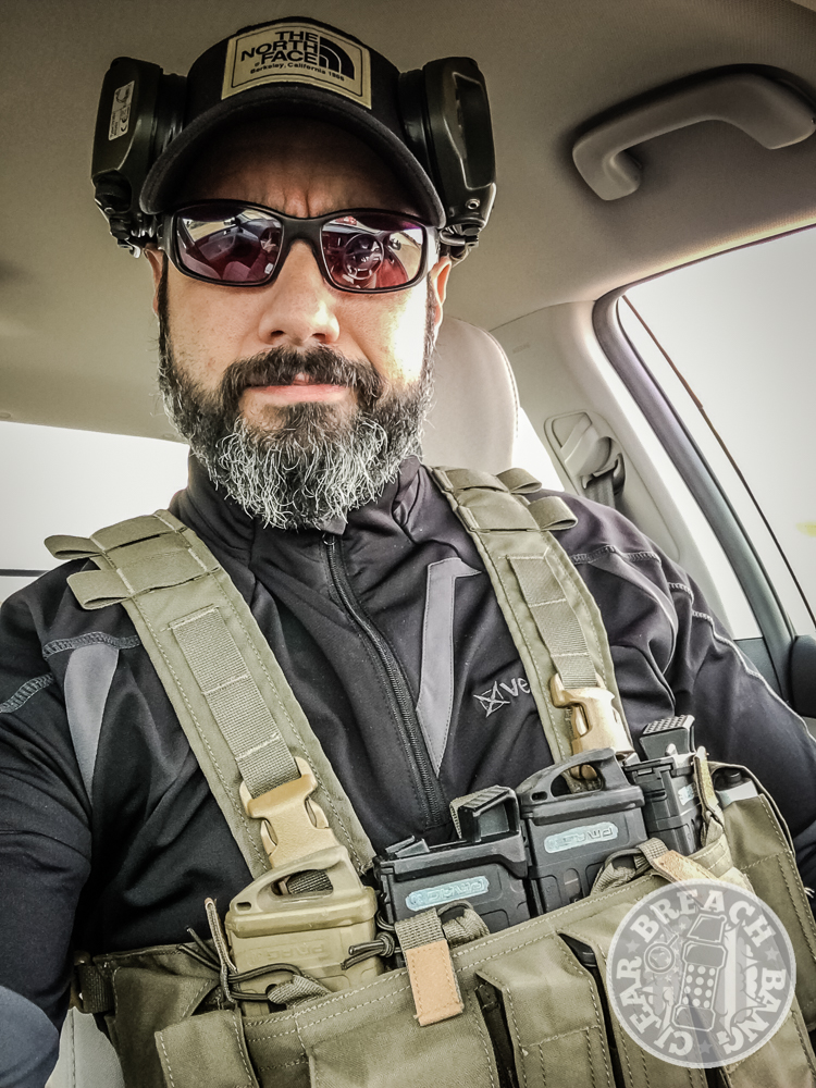 The Mayflower chest rig I used during the week.