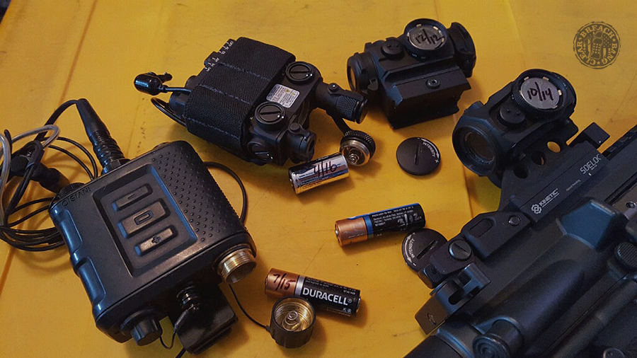 Secure a Weapon in a Vehicle, Marking Batteries, Carrying AIWB