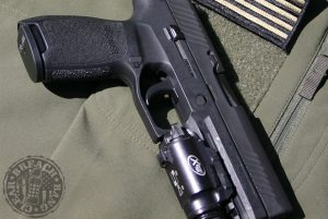 The new(ish) Sig Sauer P320, one of the new generations of offensive handgun