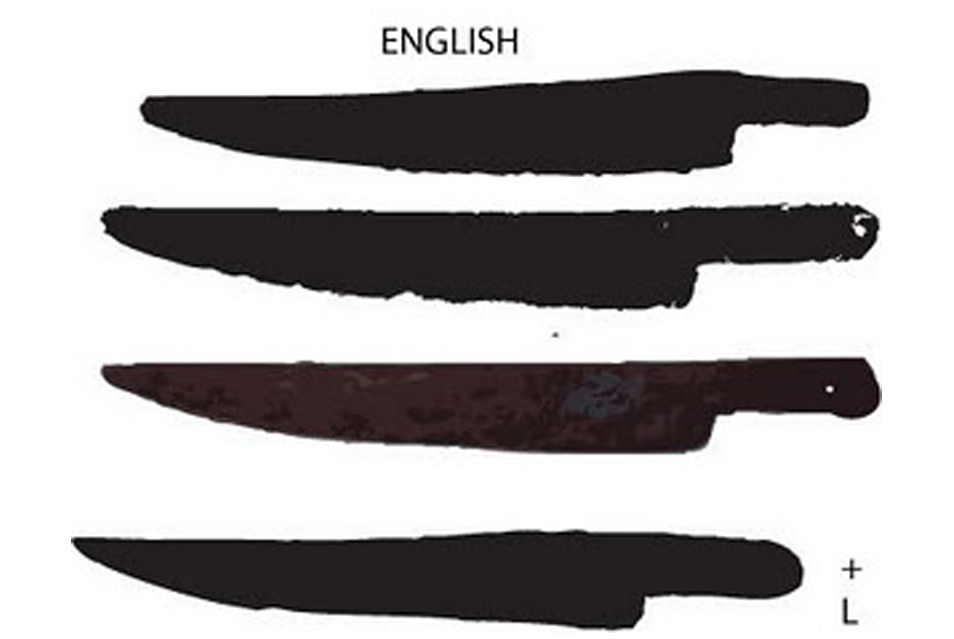 Early American Blade Shapes 2
