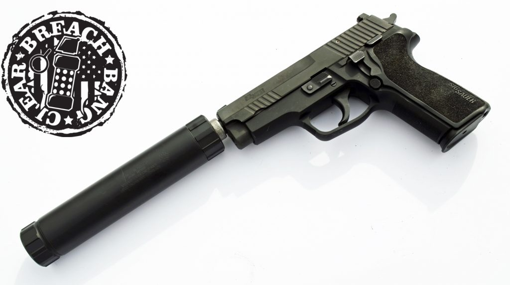 """Our idea of a """"smart gun"""" usually means it is threaded to take a can."""