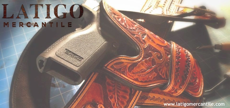 Latigo Mercantile Pistol and Holster