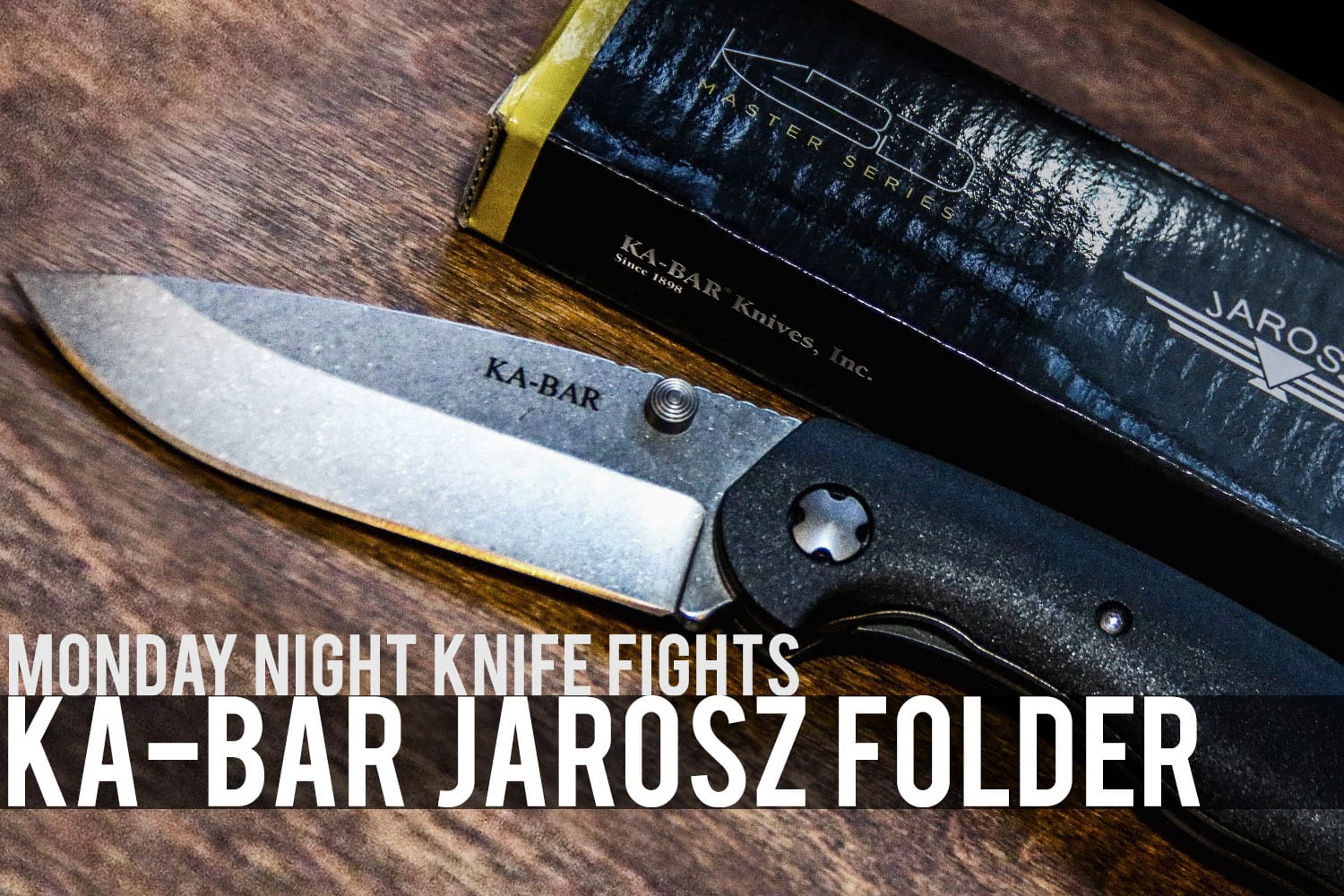 "MNKF | The Ka-Bar ""Jarosz"" Folder"