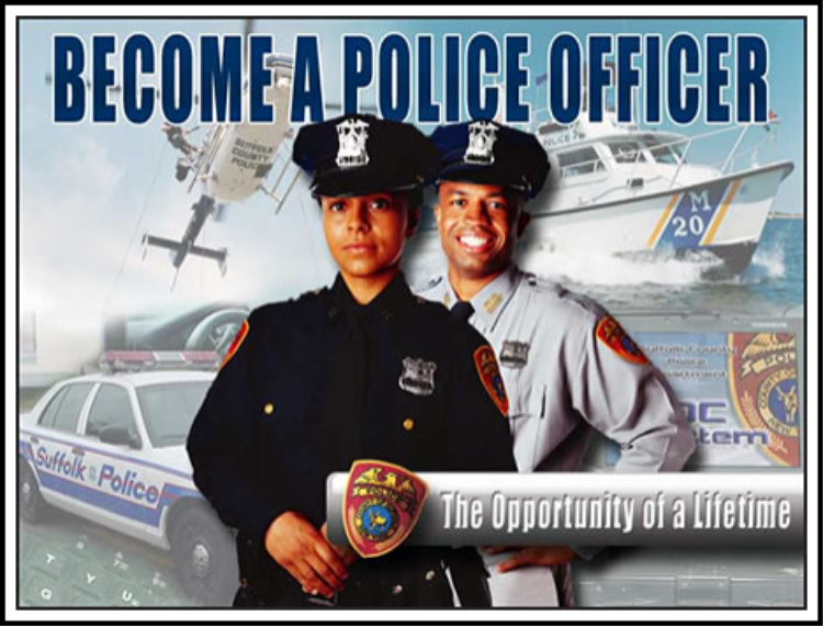 becoming a cop - police officer recruitment ad