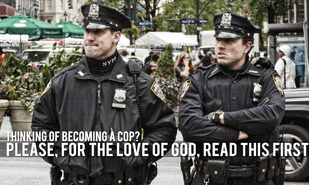 becoming police