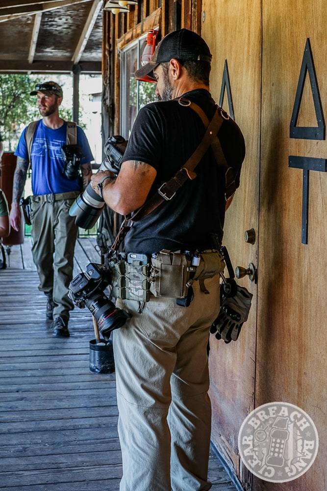 Propper tactical pants about to head out into the Dragoon Mountains