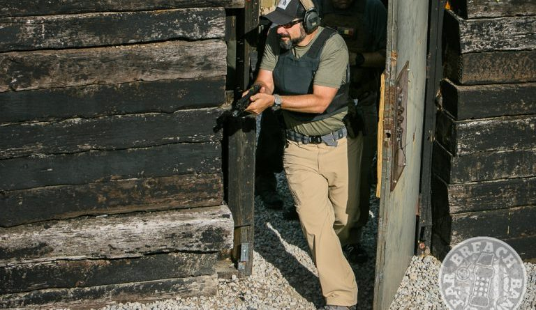 Propper tactical pants in a shoot house: the Propper STL 3