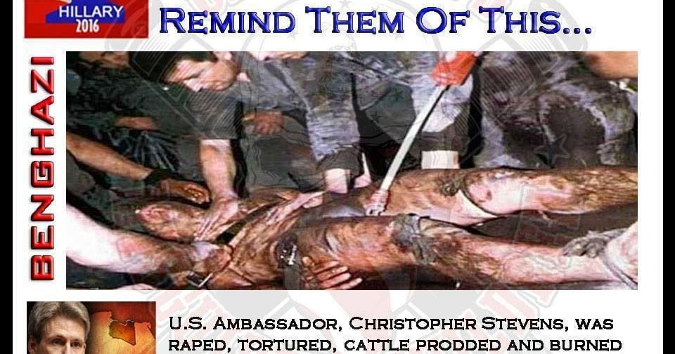 No, this isn't Ambassador Chris Stevens in Benghazi. This picture has been on the net since at least 2009 and was shared in a blog post five months before the Benghazi attack. Save the image, then do an image search before you share ridiculous, lying crap like this.