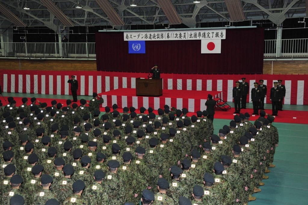 JSDF-Troops-prepare-to-deploy