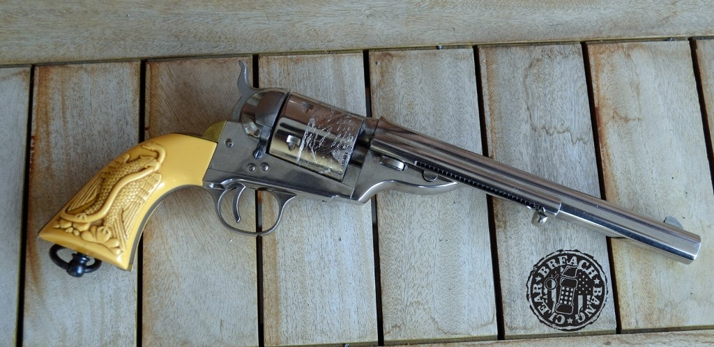 "Colt Open-Top: the ""Missing Link"" 1871-1872 Revolver 