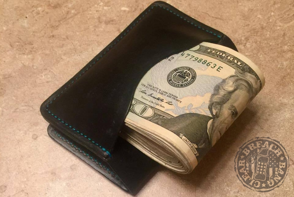review flagrant beard leather wallet breach bang clear