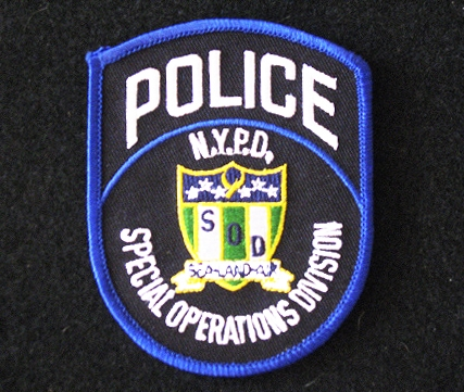 NYPD Special OPS Patch