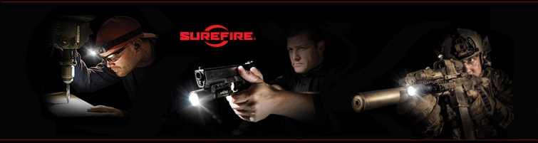 SureFire LLC lights and weapon lights.