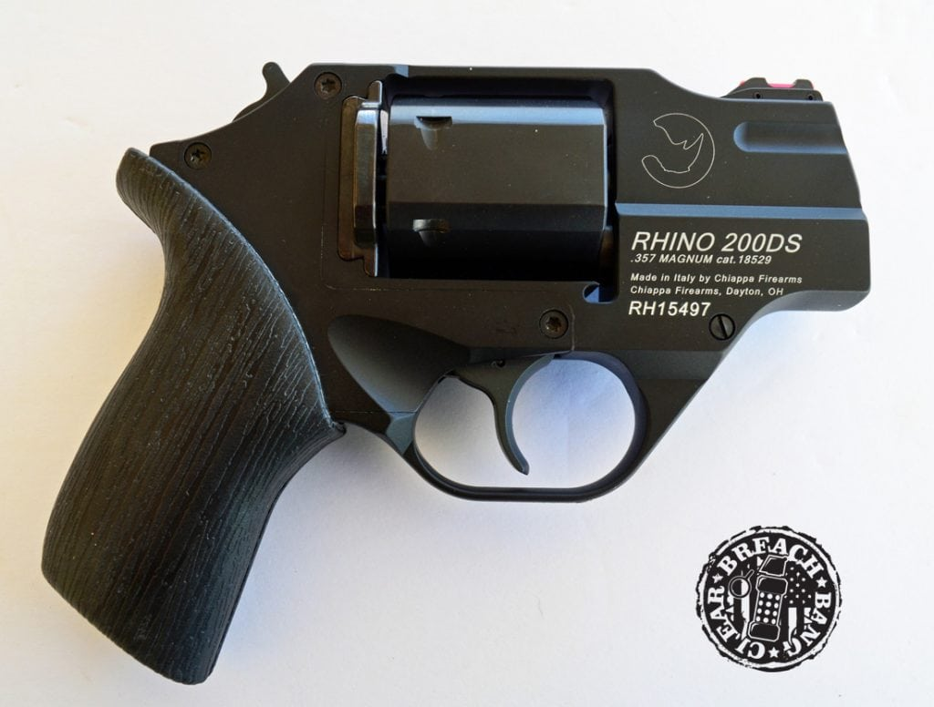 Chiappa Rhino 200DS model, in .357 Magnum