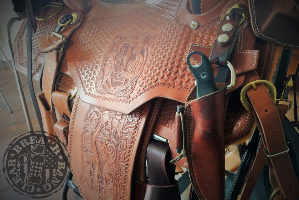 "Montana Horseman Saddle Building School  - course reviewed by Dave ""Norseman"" Williams of Survival Hardware LLC and Survivology 101"