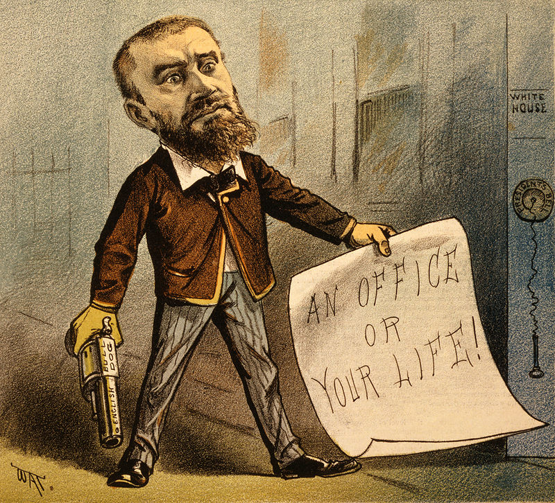 On 2 July 1881, disgruntled lawyer Charles J. Guiteau, who was angry that President Garfield had not appointed him to a federal post, used one to kill the president.