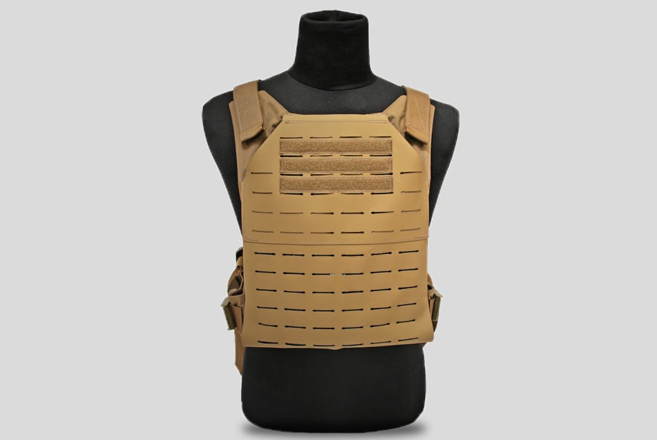 hypalon plate carrier