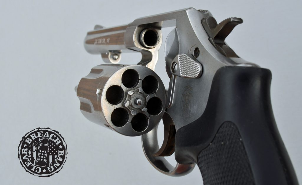 Model 64 by Smith and Wesson sexy profile