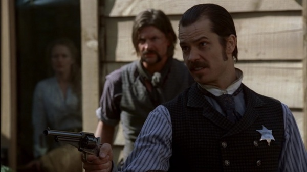 HBO Deadwood Movie Scene