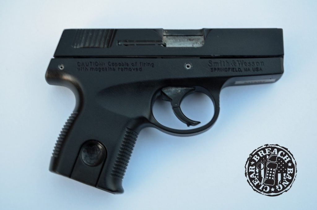 The Sigma series striker-fired pistols were a departure from S&W's norm.