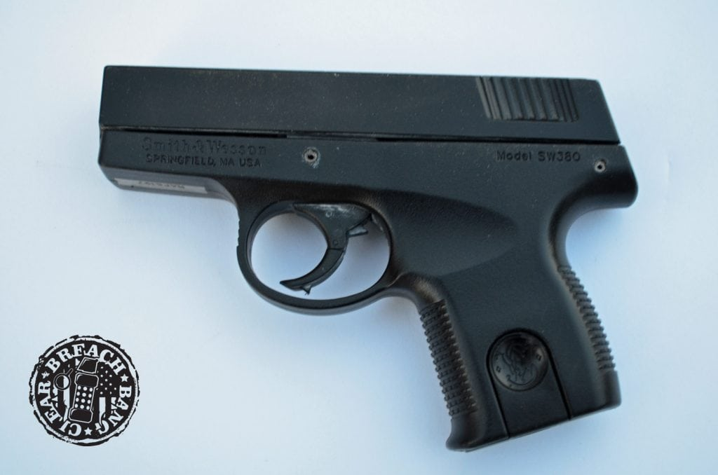 SW380 - the first Smith & Wesson pistol chambered in .380 ACP