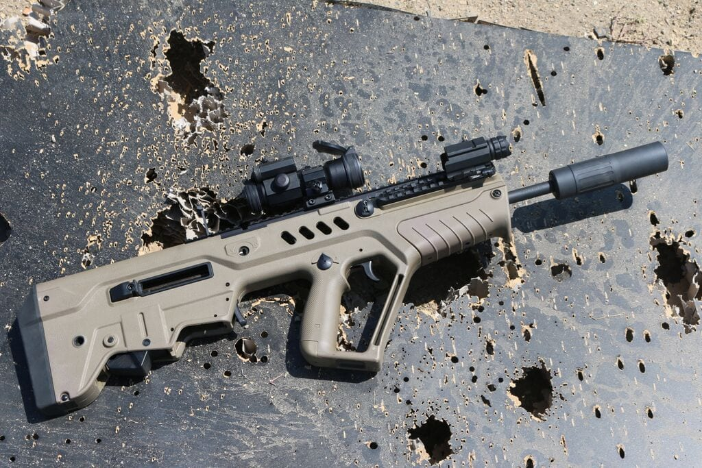 suppressed tavor