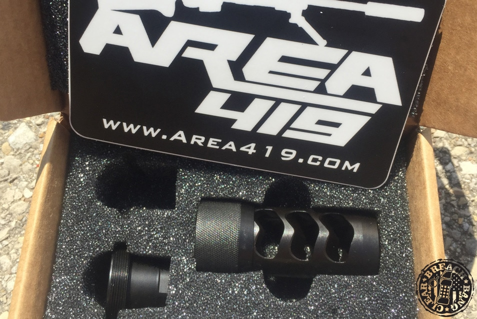 Area 419 Hellfire Muzzle Brake | Breach Bang Clear