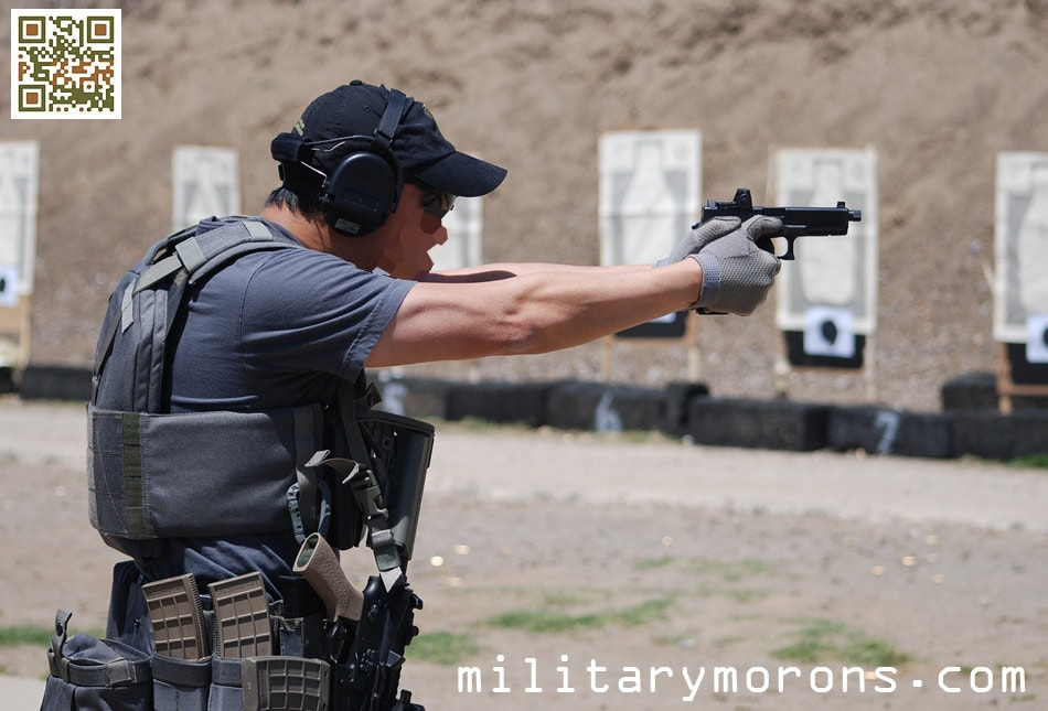 Glock Grip Force Adapter- MILITARY MORONS