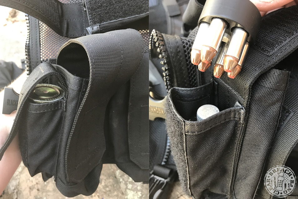 Ye olde load bearing vest is so room you can carry extra revolver rounds, shot glasses that look like 40 mm, chapstick, a fleshlight, and an extra sandwich and STILL have room left over for your radio and extra batteries.