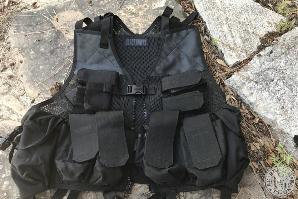 The Blackhawk DOAV load bearing vest - this LBV is just magnificent, isn't it?