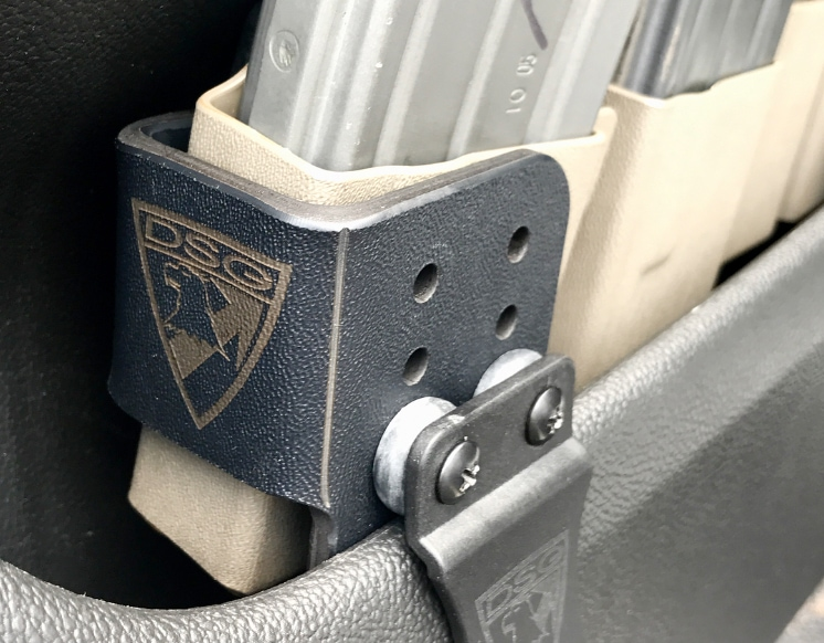 DSG Arms Vehicle Ranger Rack for Magazine Carriage in Vehicle Doors